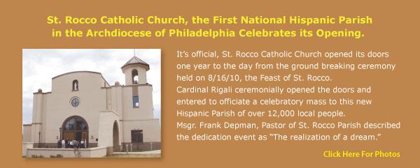 Previous Next  sc 1 th 142 & St. Rocco Catholic Church